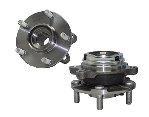 Detroit Axle Front Wheel Hub and Bearing Assembly - Driver and Passenger Side fits 2003 2004 2005 2006 2007 Nissan Murano - [2004-2009 Nissan Quest]