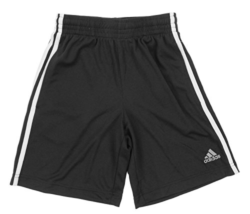 Adidas Big Boys Youth 3-Stripe Mesh Performance Shorts (Adidas 3 Stripes Mesh Short)