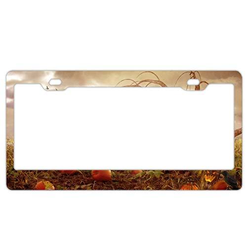 KSLIDS Holiday Halloween License Plate Frame 2 Holes -