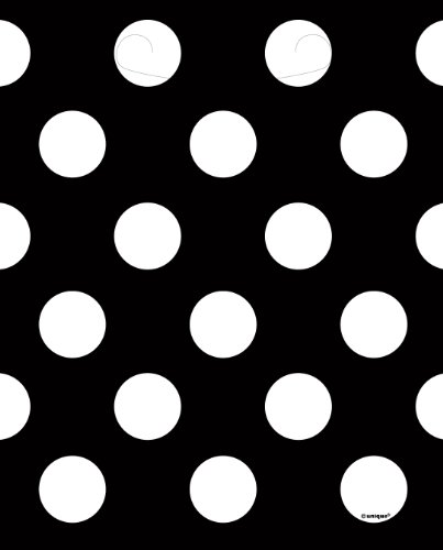 Black Polka Dot Goodie Bags, 8ct (Polka Dot Birthday Ideas Party)