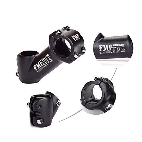 V/élo Potence 31,8/mm de 45//° Fomtor Guidon de v/élo Potence Riser Convient pour BMX VTT V/élo de montagne V/élo de route 31,8/x 90/mm