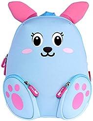 Alnaue Toddler Kids Waterproof Pre School Bag Cute 3D Animal Children School Backpack