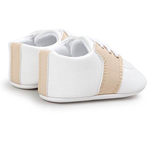 Zapatos de bebé, Switchali Recién nacido bebe niña primeros pasos verano Niño Cuna Suela blanda Antideslizante Zapatillas niñas vestir casual Calzado de deportes Amarillo