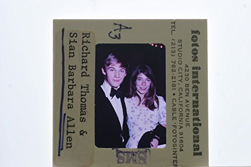 Slides photo of Sian Barbara Allen. with Richard Thomas