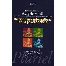 DICTIONNAIRE INTERNATIONAL DE LA PSYCHANALYSE COFFRET 2 VOLUMES