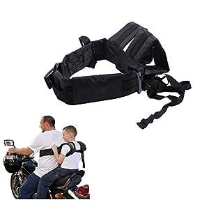 Children's Outdoor Motorcycle Safety Harness Strap Bike Seat Belt
