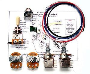 Les paul 500k complete guitar wiring kit premium combo pushpull les paul 500k complete guitar wiring kit premium combo pushpull full size pots freerunsca Images