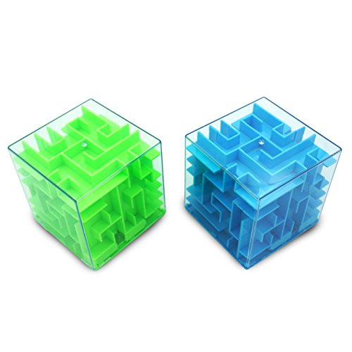 Popculta 2 Pcs Maze Puzzle Money Box (Pack of - 2 Puzzle Pack