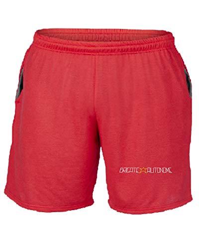 Autonome T Tum0029 shirtshock Brigate Tuta Livorno Rosso Ultras Pantaloncini 7xPq78