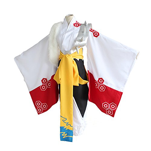 ROLECOS Japanese Anime Traditional Kimonos Cosplay Costumes Asian L