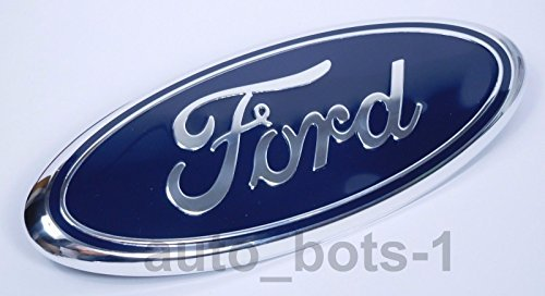 FORD F-250 F-350 2005-2007 BLUE OVAL FRONT GRILLE 9 INCH LOGO 4L3Z-1542528-AB JDM WORLD