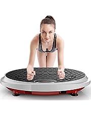 Fitness Vibratiemachine, Magneet Toevoegen, met Shiatsu Massage, Bluetooth Luidspreker, voor Thuistraining Fitness en Gewichtsverlies, Max. Belasting 150 Kg