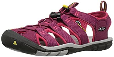 KEEN Women's Clearwater CNX Sandal, Anemone/Acacia, 5 M US