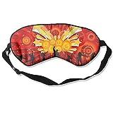 CHUANGFU Pduw Sleep Mask Eye Mask Blindfold Dance Natural Silk Eyeshade ForTravel Airplane