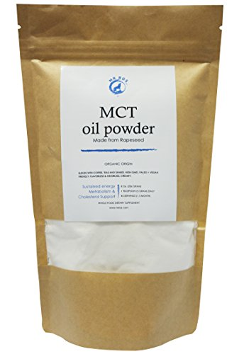 MCT Oil Powder – Healhty Coffee & Tea Creamer –Supports weight Loss- Good For Ketogenic Diet - 70% C 8 - Non GMO-
