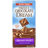 Sweet Chocolate Dream Creamy Sweet Chocolate Bar, 3 Ounce Bars (Pack of 12)