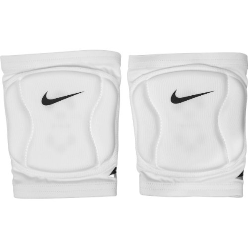 Nike Strike Volleyball Knee Pad (White, X-Small/Small)
