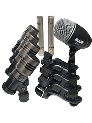 CAD Audio TOURING7 Premium 7-piece Drum Microphone Pack - Drum Kit Microphone System