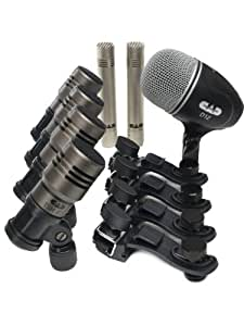 cad audio touring7 premium 7 piece drum pack includes kick snare 3 tom mics and. Black Bedroom Furniture Sets. Home Design Ideas