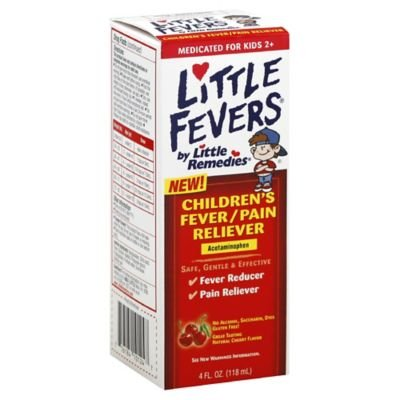 Little Remedies Little Fevers 4 oz. Children's Fever & Pain Reliever