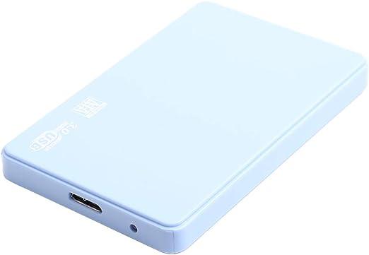 ハードドライブ 外付け ポータブル 2.5インチ HDDエンクロージャー 青色 - 1T