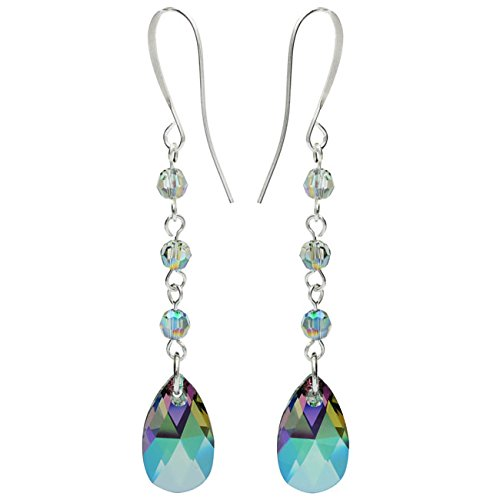Swarovski Drop Earrings - Crystal Paradise - Exclusive Beadaholique Jewelry Kit (Kit Crystal Earring Swarovski)