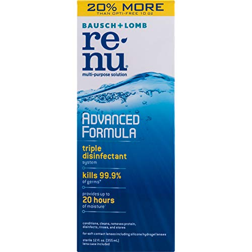 Bausch + Lomb Renu Fresh Multi-Purpose Solution - 12 oz, Pack of 4