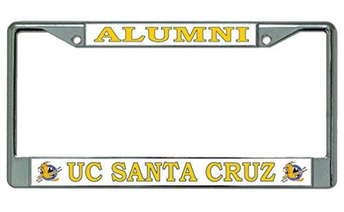 UC Santa Cruz Alumni License Plate Frame