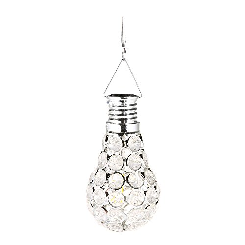 ️ Yu2d ❤️❤️ ️Waterproof Solar Rotatable Outdoor Garden Camping Hanging LED Light Lamp -