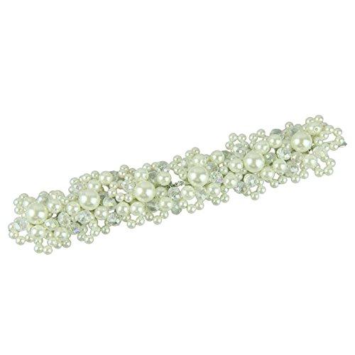 White fashion pearl crystal bride headdress by hand bridal Wedding dress - Oakley Sale Mens Sunglasses On