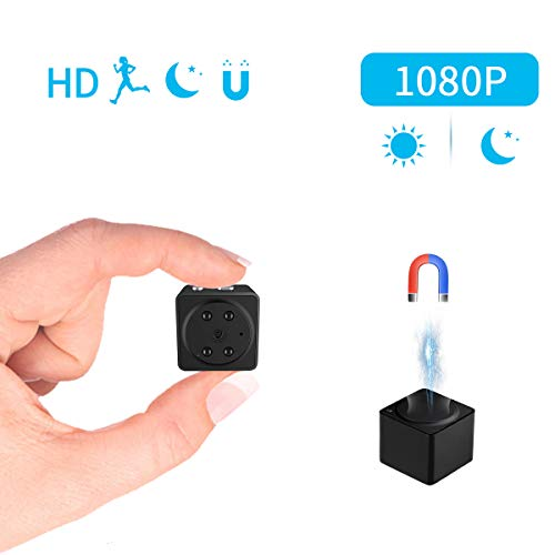 Mini Spy Camera Wireless Hidden Camera JOYTRIP HD Portable No WiFi Needed Cube Cop Cam Home Surveillance Nanny Cam with Motion Detection Night Vision for Baby Pet Monitor