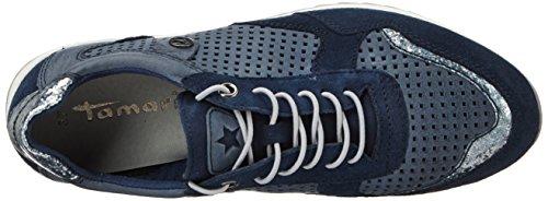 23631 Damen Tamaris Sneakers Comb Navy Blau 890 qZqxw5Frvd