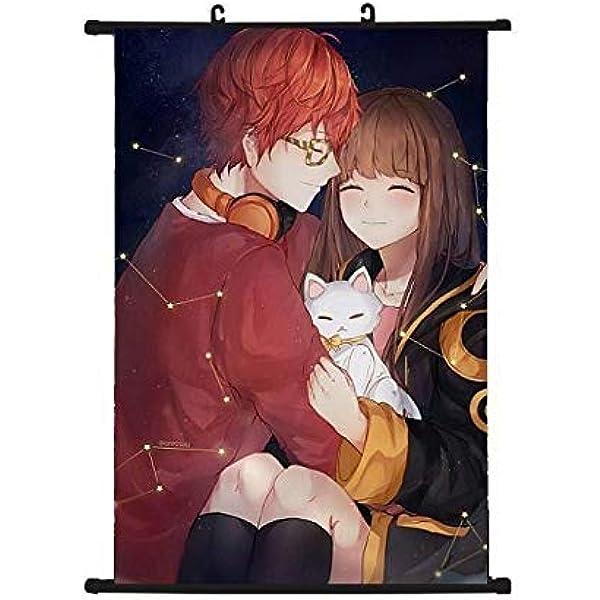 Custom New Silk Poster Wall Decor Mystic Messenger Characters Anime