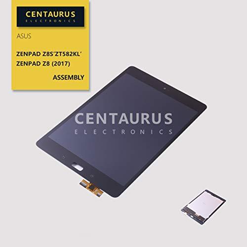 CENTAURUS Replacement for Asus ZT582KL LCD Display Touch Screen Digitizer Panel Assembly Part Compatible with Asus ZenPad Z8s ZT582KL P00J Verizon/ZenPad Z8 (2017 Version) 7.9 inch (Black-NO Frame)
