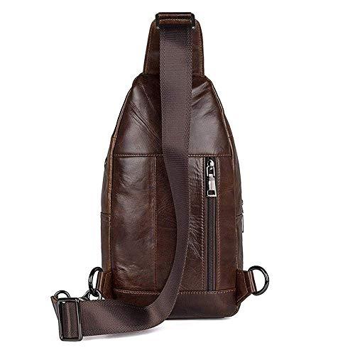 Meidi Leather per Retro gli uomini Home Head Casual Sacchetto ArSqO78A