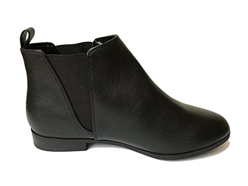 Botines Outlet City Sintética Negra Mujer Chelsea Piel TRg5wgq