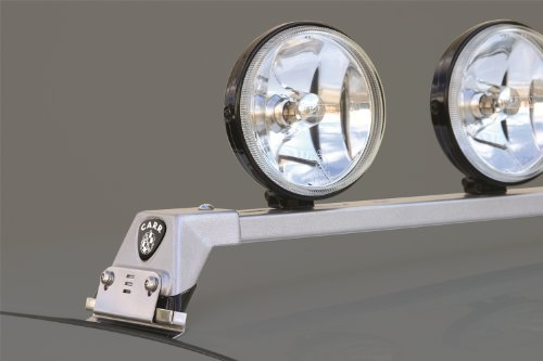 Carr's 210504 Low Profile Light Bar Titanium Silver Powder Coat
