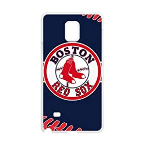 BYEB Boston Red Sox Fashion Comstom Plastic case cover For Samsung Galaxy Note4