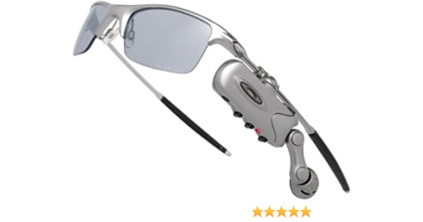 ba11bee275 Amazon.com  Bluetooth RAZRWIRE Oakley Sunglasses - Mercury  Cell ...