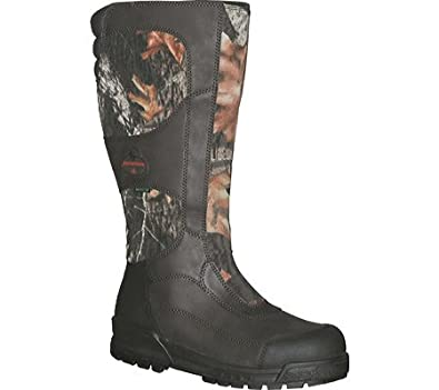 Men's Reaper Side Zip Snake Boots