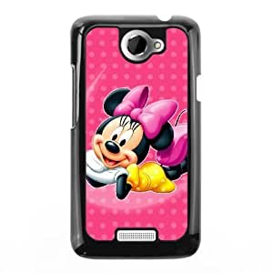 The best gift for Halloween and Christmas HTC One X Cell Phone Case Black The beautiful Disney Princess Minnie Mouse GON6238323