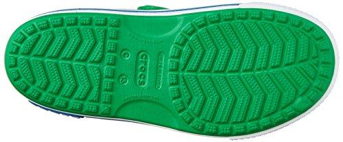 Crocs Crocband II Banana Light Up Sandalia (Toddler/Little Kid) Verde césped