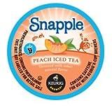 SNAPPLE PEACH ICED TEA K CUP 66 COUNT