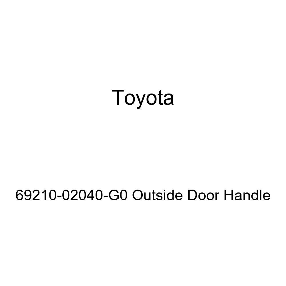 Toyota 69210-02040-G0 Outside Door Handle