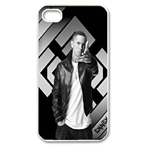 Character Clear Phone Case Eminem For iPhone 4,4S NC1Q03398
