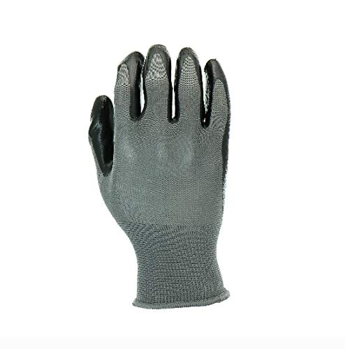 Hyper Tough Nitrile-Coated Glove, 3-Pack, Large