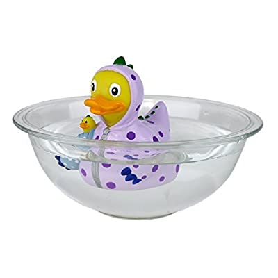 CelebriDucks Duck The Magic Dragon Rubber Duck Bath Toy: Toys & Games