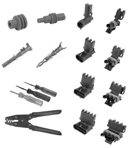 Pico 0003-OG1 160 Piece General Motors Weatherpack Electrical Terminal Kit w/Tools
