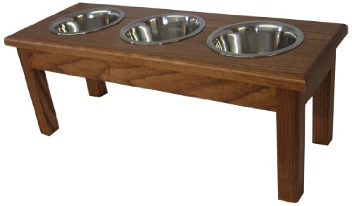 Classic Pet Beds 3 Bowl Traditional product image