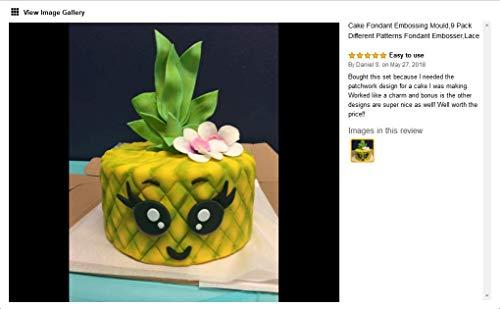 Cake Quilting Embosser Heart Bowknot Diamond Fondant Mold Cupcake Baking Mould